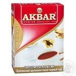 Black tea Akbar Ceylon Favorite large leaf 100g - buy, prices for MegaMarket - image 1