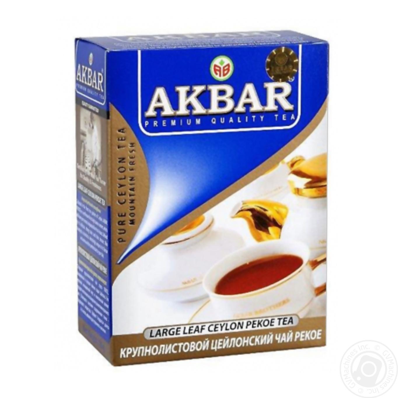 сколько стоит чай акбар