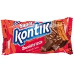 Печиво-сендвіч Konti Супер-Контік шоколадний смак 100г