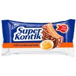 Konti Super Kontik Chocolate Glazed Condensed Milk Cookies 100g