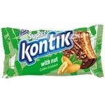 Печенье-сэндвич Super Kontik  с орехом 100г