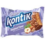 Печенье-сэндвич Конти Супер Контик молочный со вкусом фундука 50г