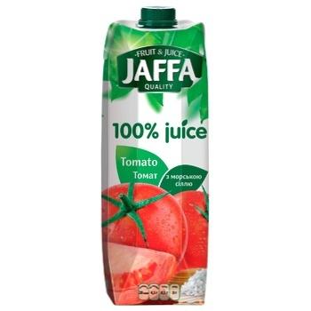 Сок Jaffa 100% juice Томатный с морской солью 0,95л