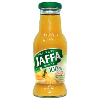 Сок Jaffa 100% Апельсиновый без добавленного сахара 0,25л