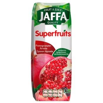 Нектар Jaffa Superfruits Гранат-арония 0,25л