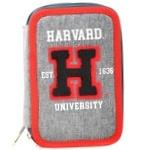 Пенал Yes Harvard твердий подвійний