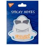 Папір YES Shark із клейким шаром фігурний