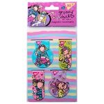 Yes Groovy Chick Magnetic Bookmarks 4pcs