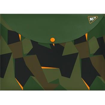 Папка-конверт Yes Hunter А4 на кнопке