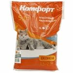 Komfort Econom Hygienic Without Scent Cat Litter 5kg