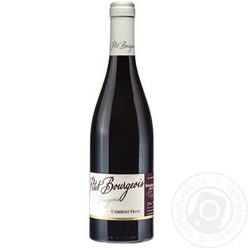 Вино Henri Bourgeois Petit Bourgeois Cabernet Franc 12.5% 0,75л - купить, цены на СитиМаркет - фото 1