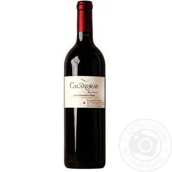 Calandray Reserve Wine red dry 15% 0,75l - buy, prices for CityMarket - photo 1