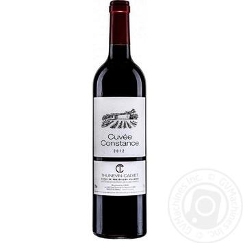 Вино Thunevin-Calvet Cuvee Constance красное сухое 15% 0,75л