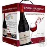 Baron d'Arignac Semi Dry Red Wine 12% 5l