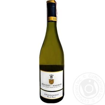 Вино Doudet Naudin Chardonnay біле сухе 12.5% 0,75л