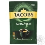 Jacobs Monarch Instant Coffee 100g - buy, prices for MegaMarket - image 1