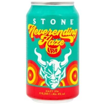 Пиво Stone Neverending Haze 4% 0,355л