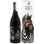 Вино Heart of Africa Cabernet Merlot красное сухое 14% 0,75л