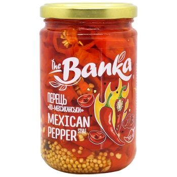 The Banka Hot Pepper in Mexican Style 300g - buy, prices for CityMarket - photo 1