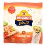 Тортилья Mission Foods Wraps Мультизлаковая 4шт. 245г