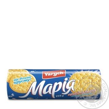 Печенье Yarych Мария оригинальная 155г - купить, цены на Ашан - фото 2