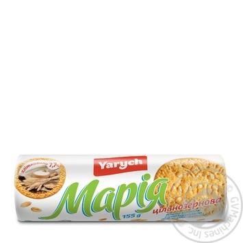 Печиво Yarych Марія цільнозернове 155г - купити, ціни на МегаМаркет - фото 2