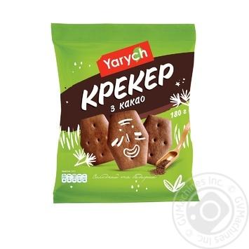 Крекер Yarych с какао 180г