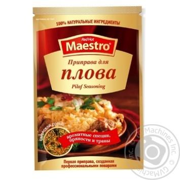 Приправа Red Hot Maestro к плову 25г - купить, цены на Novus - фото 1