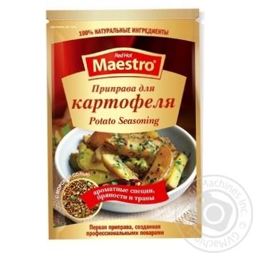 Приправа Red Hot Maestro до картоплі 25г - купити, ціни на Novus - фото 1