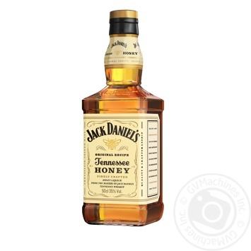 Віскі Jack Daniel's Tennessee Honey 35% 0,5л - купити, ціни на CітіМаркет - фото 2