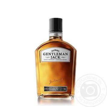 Віскі Jack Daniel's Gentleman Jack 40% 0,7л - купити, ціни на Novus - фото 1