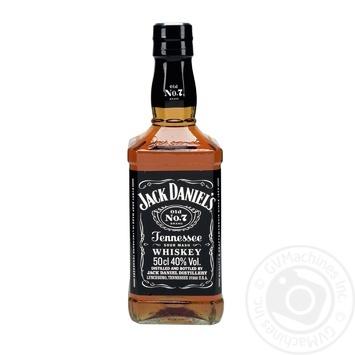 Виски Jack Daniel`s Old No. 7 40% 0,5л - купить, цены на СитиМаркет - фото 1