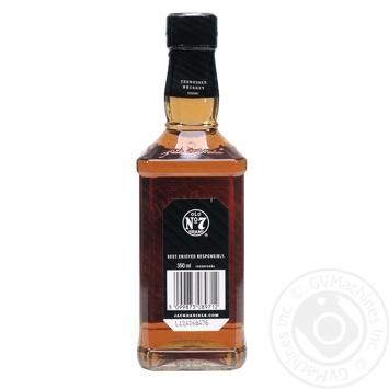 Віскі Jack Daniel`s Old No.7 40% 0.35л - купити, ціни на МегаМаркет - фото 3