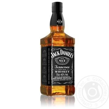 Віскі Jack Daniel`s Old No. 7 40% 0,7л - купити, ціни на Метро - фото 3