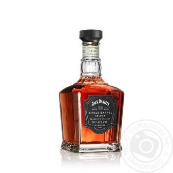 Віскі Jack Daniel's Single Barrel 45% 0,7л - купити, ціни на МегаМаркет - фото 2