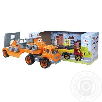 Іграшка Technok Автовоз з будмайданчиком - купити, ціни на Ашан - фото 3