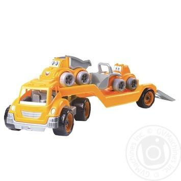 Іграшка Technok Автовоз з будмайданчиком - купити, ціни на Ашан - фото 2