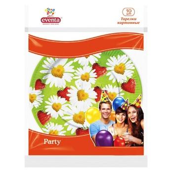 Eventa Printed Paper Plates 10pcs - buy, prices for Furshet - image 2
