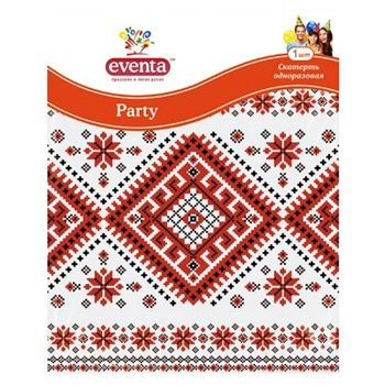 Eventa Tablecloth with a pattern polyethylene 138x183cm - buy, prices for Furshet - image 3