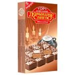 Торт Домашне Свято вафельный со вкусом шоколада 200г