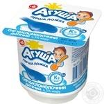 Творог Агуша классический для детей с 6 месяцев 4.5% 100г - купить, цены на Фуршет - фото 1