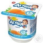 Сирок уисломолочний Агуша гарбуз для дытей з 6 місяців 3.9% 100г - купити, ціни на Фуршет - фото 1
