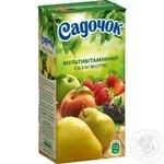 Сок Садочок мультивитаминный 0,5л - купить, цены на Фуршет - фото 1