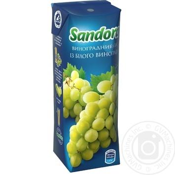 Cок Sandora виноградный 250мл - купить, цены на Novus - фото 1