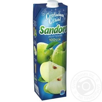 Сок Sandora яблочный 950мл - купить, цены на Novus - фото 1