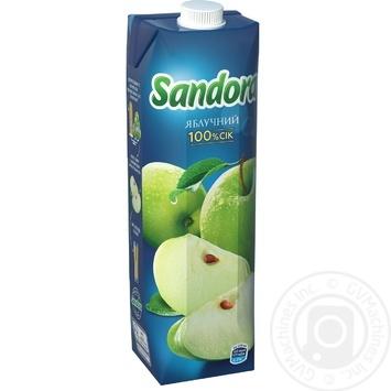 Сок Sandora яблочный 950мл - купить, цены на Novus - фото 3