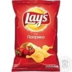 Lay's potato chips with paprika flavor 133g - buy, prices for Novus - image 1