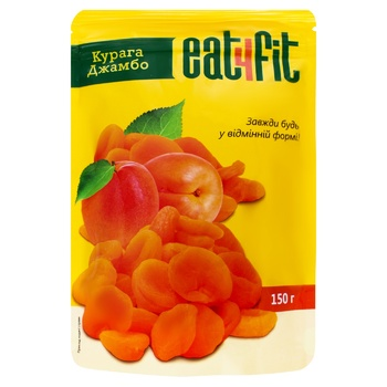 Eat4Fit Jumbo Dried Apricots 150g
