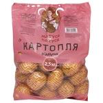 Картопля Ваші Овочі відбірна 2.5кг - купити, ціни на Ашан - фото 1