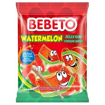 Bebeto Chewing Candies Watermelon 80g - buy, prices for CityMarket - photo 1